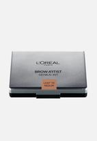 L'Oreal Paris - Brow Artist Genius Kit - Light to Med 01
