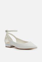 ALDO - Serisien pointed pump - white
