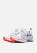 Nike - Air Max 270 - White/Black/Total Orange