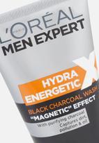 L'Oreal Men Expert - ME Hydra Energetic X black charcoal wash 150ml