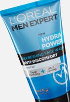 L'Oreal Men Expert - ME Hydra Power refreshing face wash 150ml