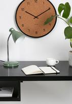 Present Time - Study table lamp - jungle green