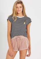 Supré  - Velour shorts - pink