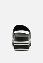 ALDO - Monochrome slider - black