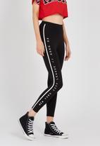 Supré  - Graphic legging - black