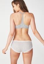 Cotton On - Super soft comfy bum panty - grey