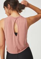 Cotton On - Twist hem tank - pink