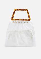 dailyfriday - Kiara clear bag - natural