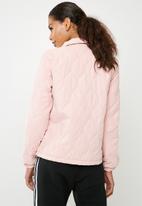 Jacqueline de Yong - Serena quilted jacket - pink