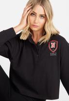 Supré  - Rugby top - black