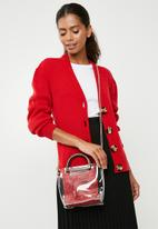 dailyfriday - Ciara clear bag - red