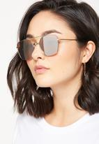Cotton On - Lucinda metal pilot sunglasses - silver