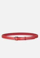 Cotton On - Mila belt - red