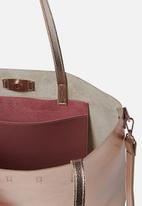 Cotton On - Boss tote - rose gold