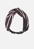 Cotton On - Manhattan headband-black
