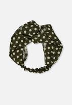 Cotton On - Manhattan headband - khaki & white