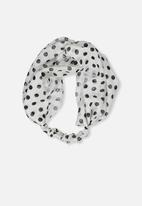 Cotton On - Manhattan headband - cream & black