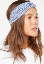Cotton On - Manhattan headband - blue