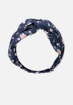 Cotton On - Manhattan headband - navy