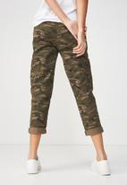 Cotton On - Rolled hem chino pant - multi