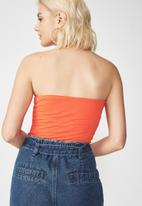 Cotton On - Tube top - orange