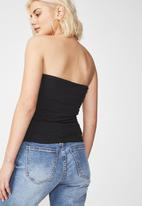 Cotton On - Tube top - black