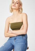Cotton On - Tube top - green