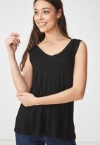 Cotton On - Summer tank top - black