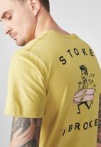 Cotton On - Tbar tee - yellow