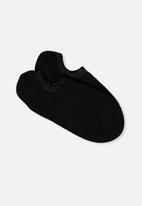 Cotton On - Sports low cut socks - black