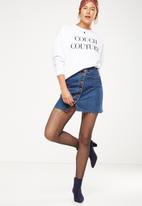 Cotton On - Pattern tight - black