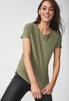 Cotton On - Crew T-shirt - green