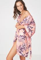 Cotton On - Kimono gown - pink