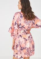 Cotton On - Kimono gown - pink