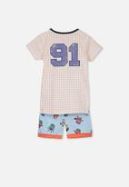 Cotton On - Joshua short sleeve boys pyjama set - multi