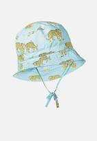 Cotton On - Bucket summer hat -blue & yellow