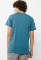 Cotton On - Essential crew tee -  blue