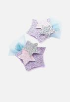 Cotton On - Dress up hair clip - purple
