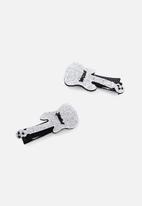 Cotton On - Fashion hair clip - silver