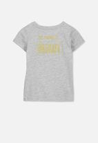 Cotton On - Penelope short sleeve tee - grey