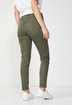 Cotton On - Mid grazer skinny jean - khaki