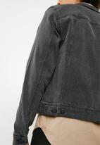 Only & Sons - Camp denim jacket - black