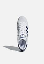 adidas Originals - Superstar - Ftwr White / Collegiate Royal / Gold Met