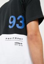 adidas Originals - EQT graphic tee - black & white