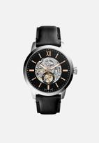 Fossil - Townsman leather - black