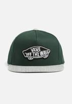 Vans - Classic patch snapback - green & grey