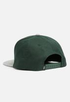 Vans - Classic patch snapback - green & grey