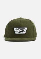 Vans - Full patch snapback - green
