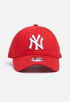 New Era - Kids league basic New York yankees snapback - red & white