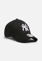 New Era - Kids league basic New York yankees snapback - black & white